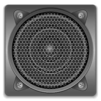 Icono de altavoz de sonido, ilustración