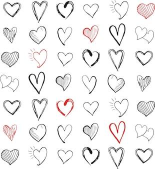 Icono de amor símbolo del corazón
