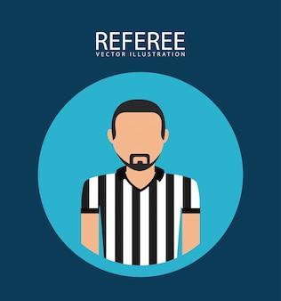 Icono de árbitro