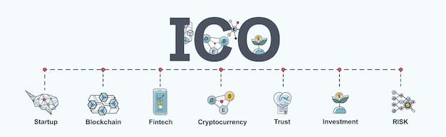 Icono de banner web ico infografía