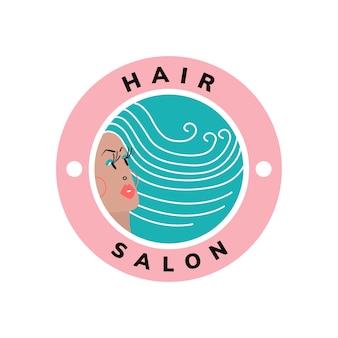 Icono de belleza y peluquería.