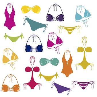 Icono de bikini