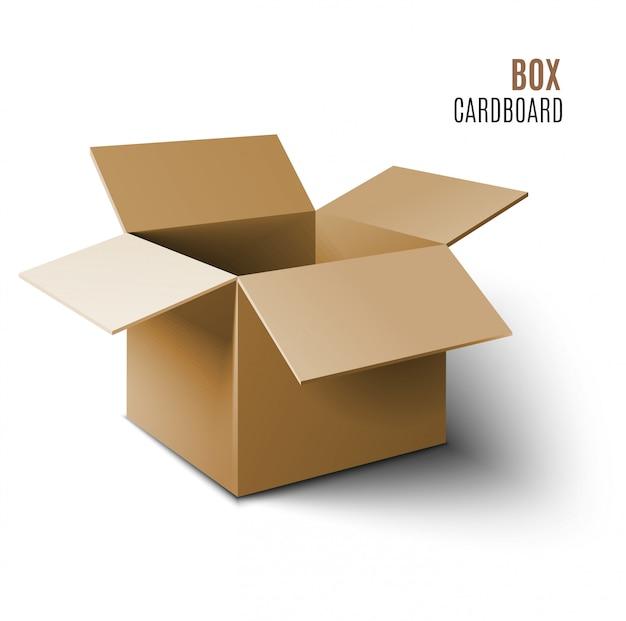 Icono de caja de cartón.
