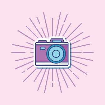 Icono de cámara photographi