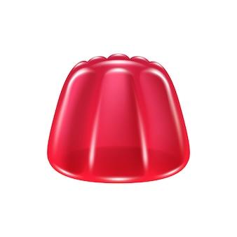 Icono clásico de caramelo de gelatina.