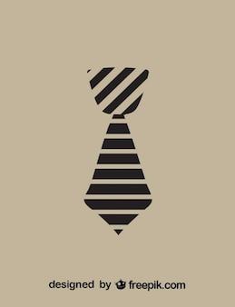 Icono de corbata a rayas