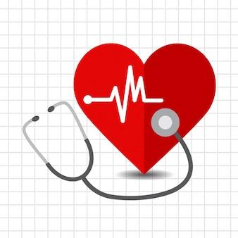 Icono de cuidado del corazón
