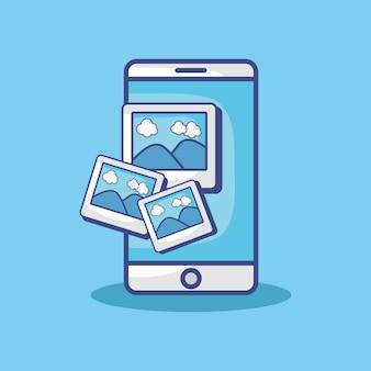 Icono de dispositivo de teléfono inteligente