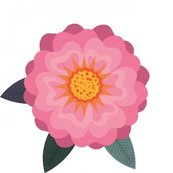 Icono de diseño floral