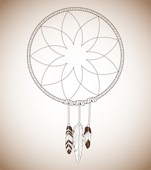 Icono de dream catcher
