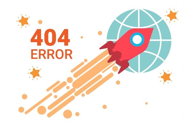 Icono de error 404 no encontrado banner de mensaje roto