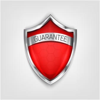 Icono de escudo de protección aislado sobre fondo blanco. protección contra virus color azul 3d