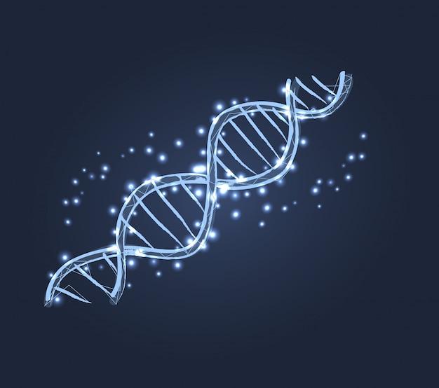 Icono de estructura de código de adn