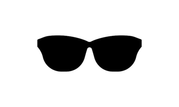 Icono de gafas de sol. tiempo soleado. vector sobre fondo blanco aislado. eps 10.