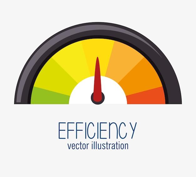 Icono de gestión eficiente