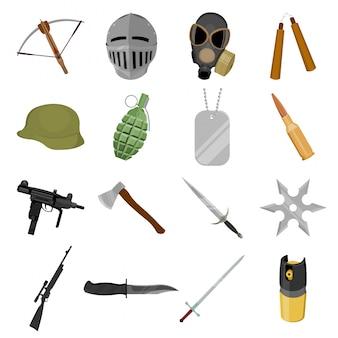 Icono de ilustración de arma