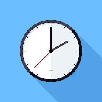 Icono de ilustración del reloj