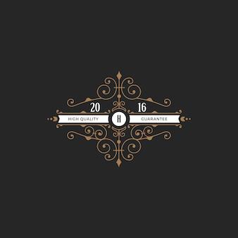 Icono de insignia de etiqueta vintage.