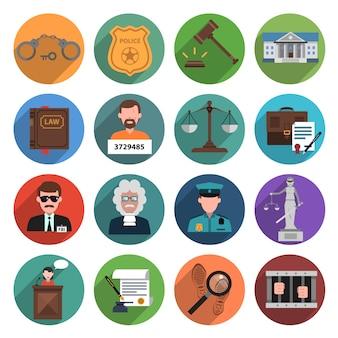Icono de ley plana