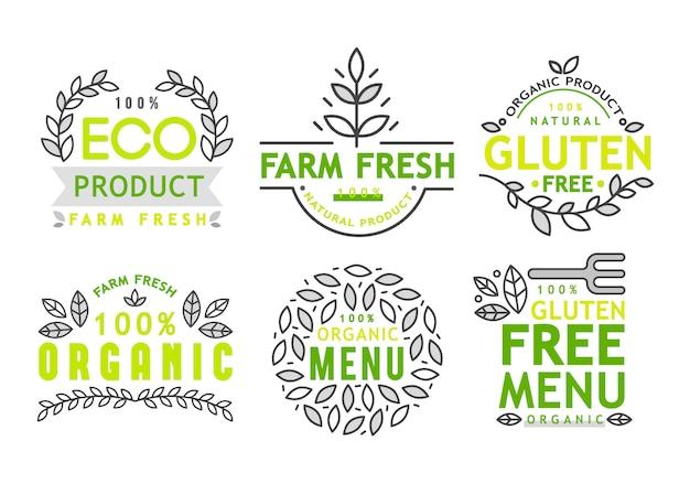 Icono libre de gluten, muestra libre de gluten aislado sobre fondo blanco.