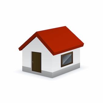 Icono de linda casa