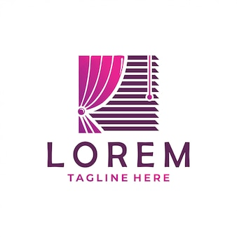 Icono del logo de la cortina