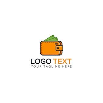 Icono de logotipo de la aplicación de dinero billetera