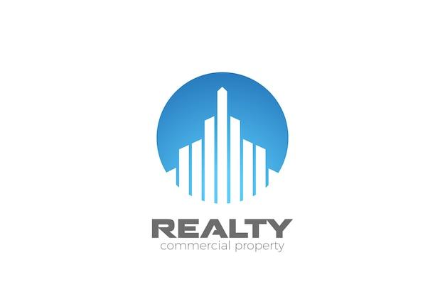 Icono del logotipo de bienes raíces.