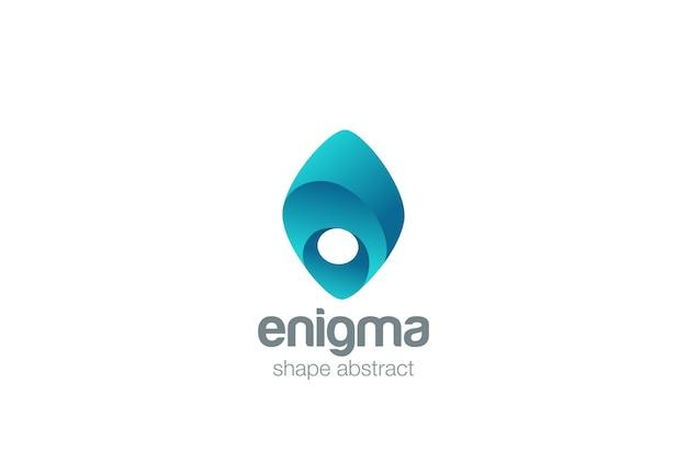Icono del logotipo de enigma.