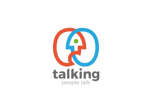 Icono del logotipo del foro de chat.
