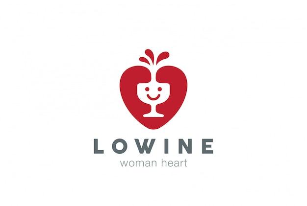 Icono de logotipo de sonrisa feliz