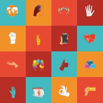 Icono de manos izquierdas