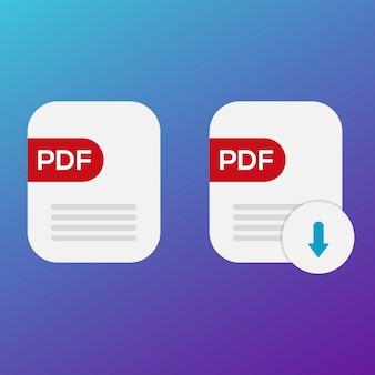 Icono pdf descargar libro