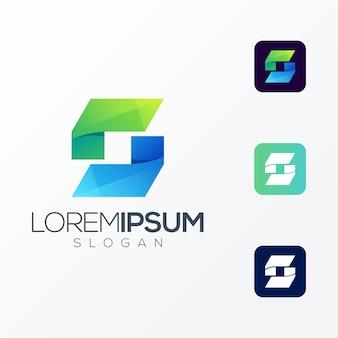 Icono premium letra s