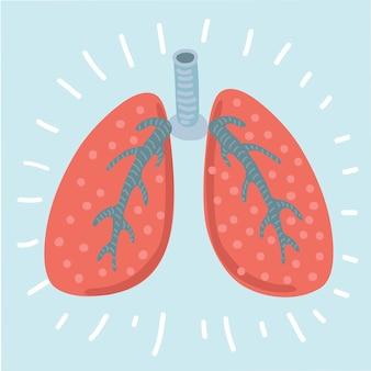Icono de pulmones