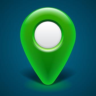 Icono de puntero de mapa.