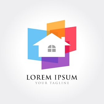 Icono de real estate house business