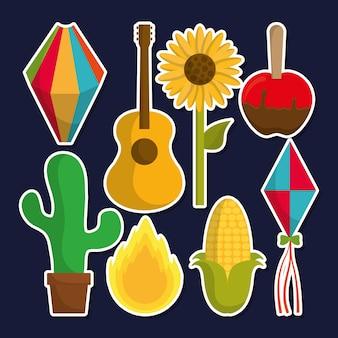 Icono relacionado festa junina