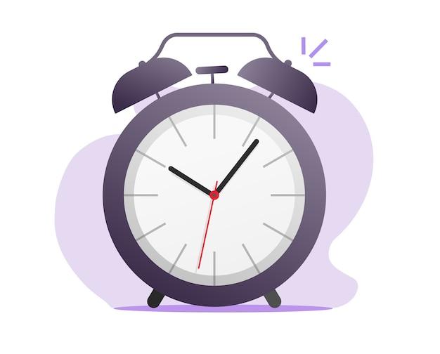 Icono de reloj despertador retro vintage