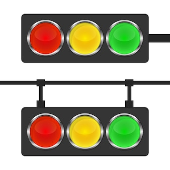 Icono de semáforo