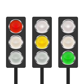 Icono de semáforo -.