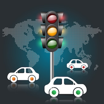 Icono de semáforo.