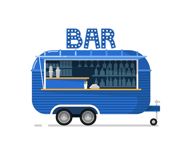 Icono de servicio de cafetería al aire libre