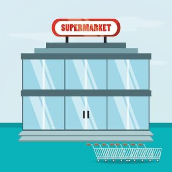 Icono de supermercado