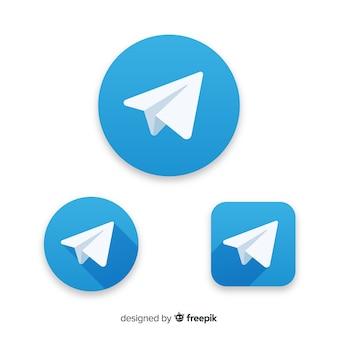 Icono telegram