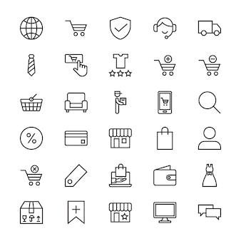 Icono de la tienda en línea