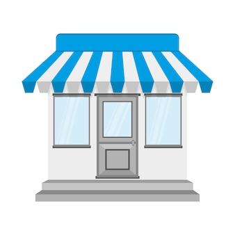Icono de tienda o tienda. ilustración