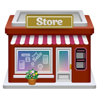 Icono de tienda. .