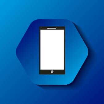 Icono usable de la tecnología de teléfono inteligente