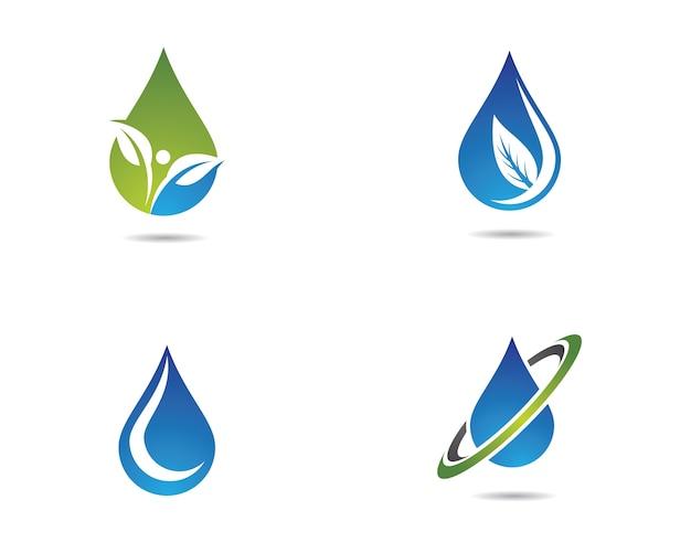 Icono de vector de gota de agua